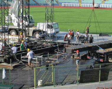 AC/DC Concert at Vasil Levski Stadium, Sofia, Bulgaria