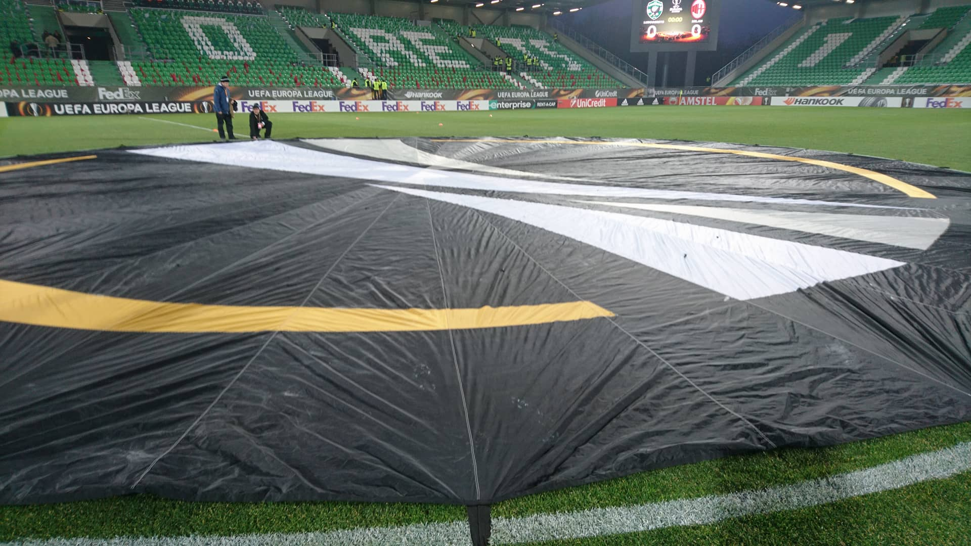 UEFA Europa League – Ludogorets-Milan /Bulgaria/